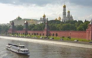 Tour en el río de Moscú Panorámico