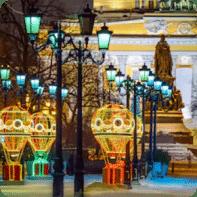 Tour año nuevo por Moscú