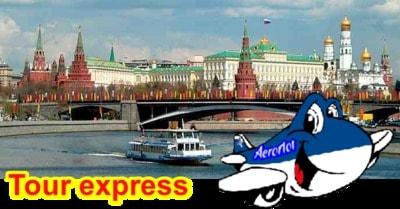 Tour de escala en Moscú