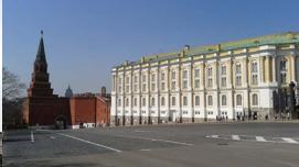 La armería del Kremlin en Moscú