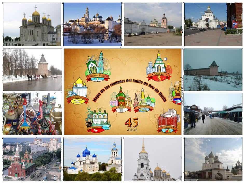 Recorrido completo del Anillo de oro de Rusia.