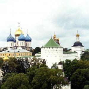 Monasterio de San Sergio, Rusia.