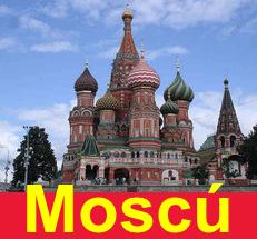 Moscú la capital de Rusia