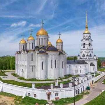 Excursión al GOLDEN RING de Rusia Vladimir