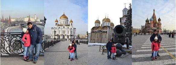 Comentario de turista chileno a Guiamoscow tour
