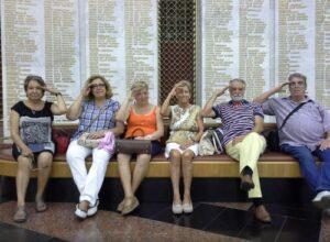 Turistas españoles comentarios Moscu